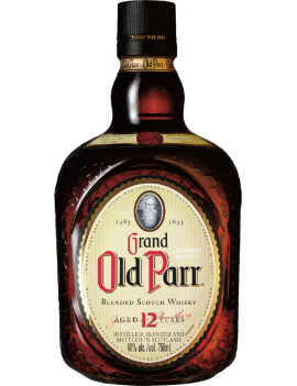 GRAND OLD PARR 12 AÑOS 750 ML